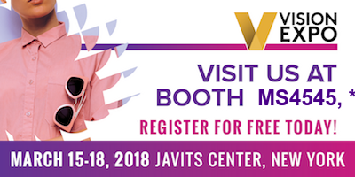 Vision Expo East March 15-18, 2018